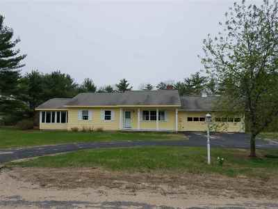 Moultonborough Single Family Home For Sale: 40 Orchard Drive