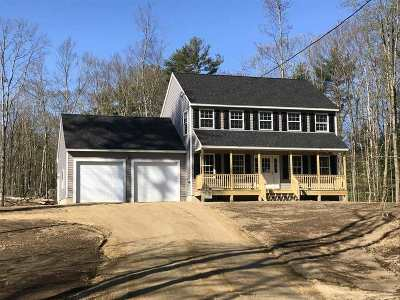 Strafford Single Family Home For Sale: 405 Second Crown Point Road #Lot 30-8