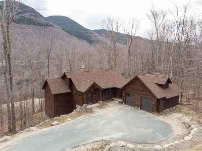 Lincoln NH Single Family Home For Sale: $795,000
