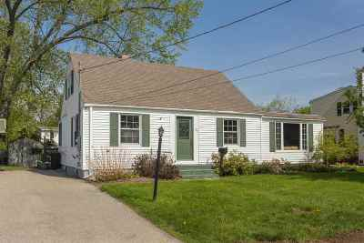 Dover Single Family Home Active Under Contract: 23 Elliot Park