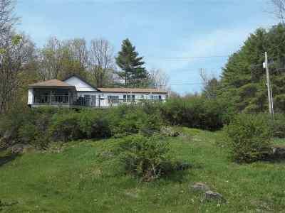 Castleton Single Family Home For Sale: 883 Cedar Mountain Road