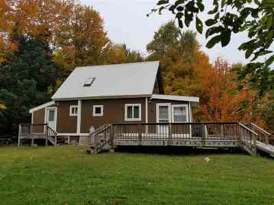 Caledonia County Single Family Home For Sale: 2422 Abbott Hill Road
