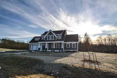 Single Family Home For Sale: 36 Seavey Way #Lot D