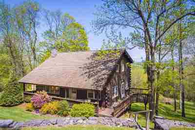 Chittenden County Single Family Home For Sale: 3133 Mt. Philo Road