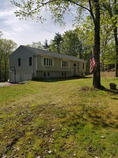 Weare Single Family Home For Sale: 196 Walker Hill Road