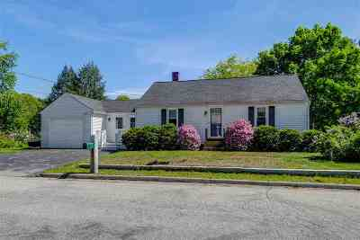 Manchester Single Family Home For Sale: 326 Ward Street