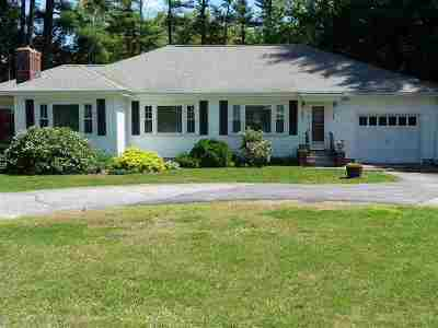 Goffstown Single Family Home For Sale: 495 Mast Road