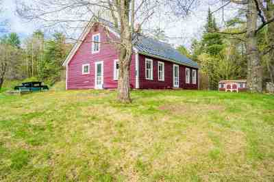 Bradford Single Family Home For Sale: 1753 Chase Hollow Road