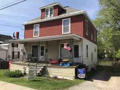 Winooski Multi Family Home Active Under Contract: 135 Saint Peter Street