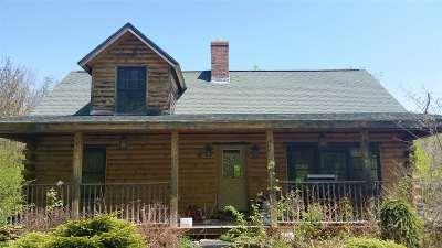 Starksboro Single Family Home For Sale: 840 Lafayette Road