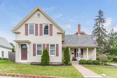 Goffstown Single Family Home For Sale: 58 Church Street