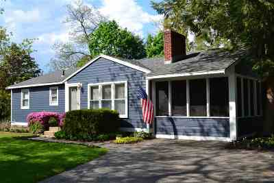 Hampton Single Family Home Active Under Contract: 354 Winnacunnet Road