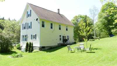 Whiting Single Family Home For Sale: 6746 Vt Route 100 Highway