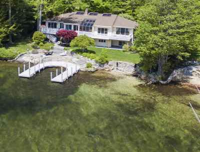 Gilford Single Family Home Active Under Contract: 75 Shore Road