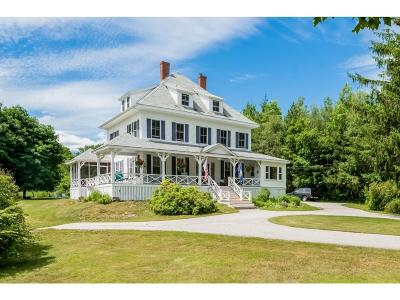 Wolfeboro Single Family Home For Sale: 17 Forest Road
