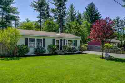 Hudson, Litchfield, Nashua, Londonderry Single Family Home For Sale: 5 Burlington Road