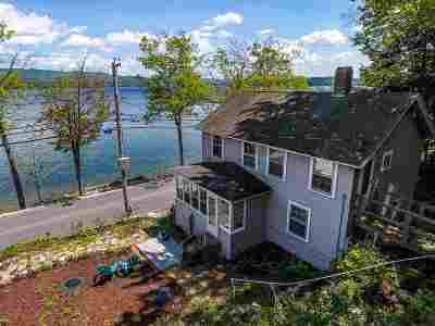 Hebron Single Family Home For Sale: 510 West Shore Road