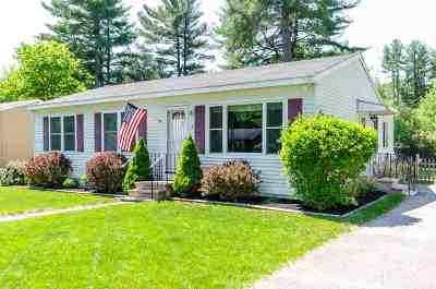 Hudson, Litchfield, Nashua, Londonderry Single Family Home For Sale: 6 Burlington Road