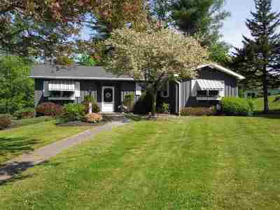 Rutland City VT Single Family Home For Sale: $225,000