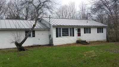 Castleton Single Family Home For Sale: 943 Route 4a West