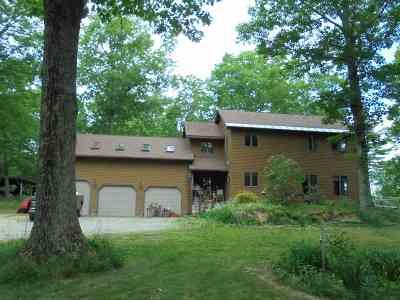 Castleton Single Family Home For Sale: 587 Johnson-Spooner Road