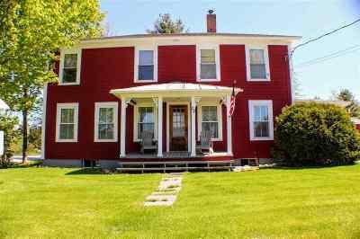 Enosburg Single Family Home For Sale: 29 Horseshoe Circle