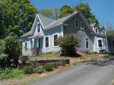 Bradford Single Family Home For Sale: 36 W Main Street