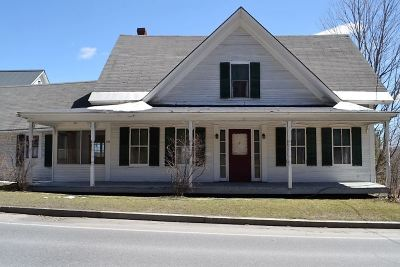 Montpelier Single Family Home Active Under Contract: 286 Berlin Street