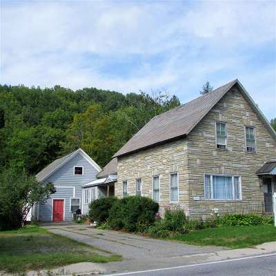 Whiting Single Family Home For Sale: 3012 Vt Route 100
