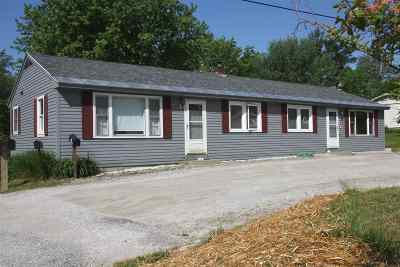 Rutland Town Multi Family Home For Sale: 611 U. S. Route 4 East