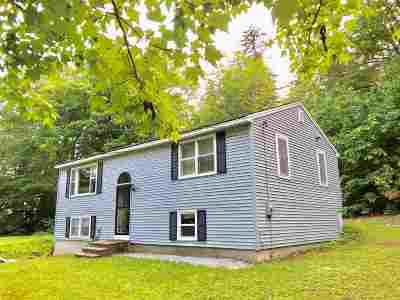 Weare Single Family Home Active Under Contract: 221 Buckley Road
