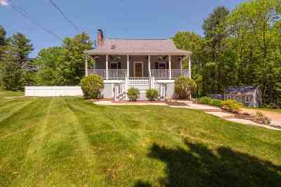 Raymond Single Family Home Active Under Contract: 179 Lane Road