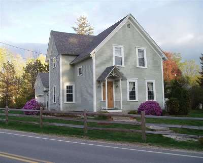 Bedford Single Family Home Active Under Contract: 186 N Amherst Road