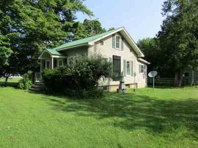 Isle La Motte Single Family Home For Sale: 324 School Street