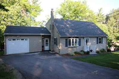 Merrimack Single Family Home Active Under Contract: 37 Belmont Drive