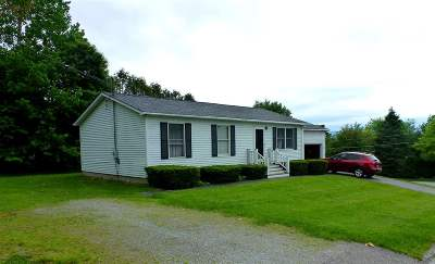 Rutland City VT Single Family Home For Sale: $149,500