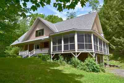 Waterbury Single Family Home For Sale: 1442 Gregg Hill Road