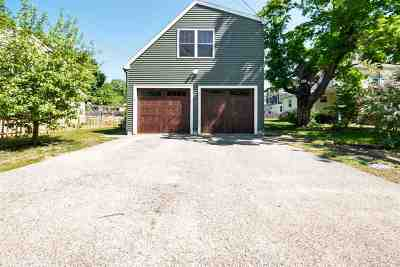 Belknap County, Carroll County, Cheshire County, Coos County, Grafton County, Hillsborough County, Merrimack County, Rockingham County, Strafford County, Sullivan County Single Family Home For Sale: 5 Sidney Street