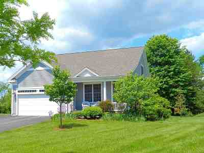 South Burlington Single Family Home For Sale: 59 Upswept Lane