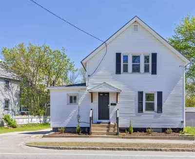 Concord Single Family Home Active Under Contract: 158 N State Street