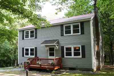 Weare Single Family Home Active Under Contract: 115 Upper Craney Hill Road