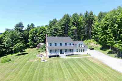 Caledonia County Single Family Home Active Under Contract: 1093 & 1155 Penny Lane