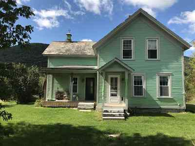 West Rutland Single Family Home For Sale: 1915 Marble Street