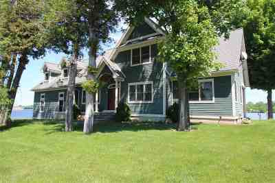 Alburgh Single Family Home For Sale: 27 Poor Farm Road