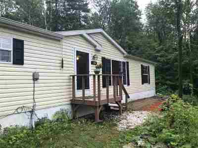 Starksboro Single Family Home For Sale: 1181 Mason Hill North Road