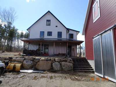 Francestown Single Family Home For Sale: 434 2nd Nh Turnpike N Road