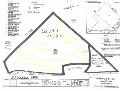 Milton Residential Lots & Land For Sale: 351 Middleton Road