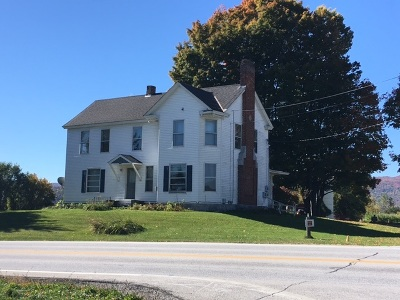 Pittsford Commercial For Sale: 4875 Us Route 7 Route