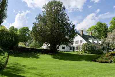 Craftsbury Single Family Home Active Under Contract: 574 Ketchum Hill Road