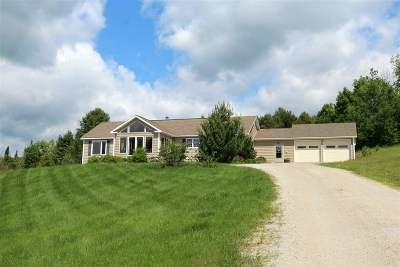 Caledonia County Single Family Home For Sale: 193 Somerhill Road